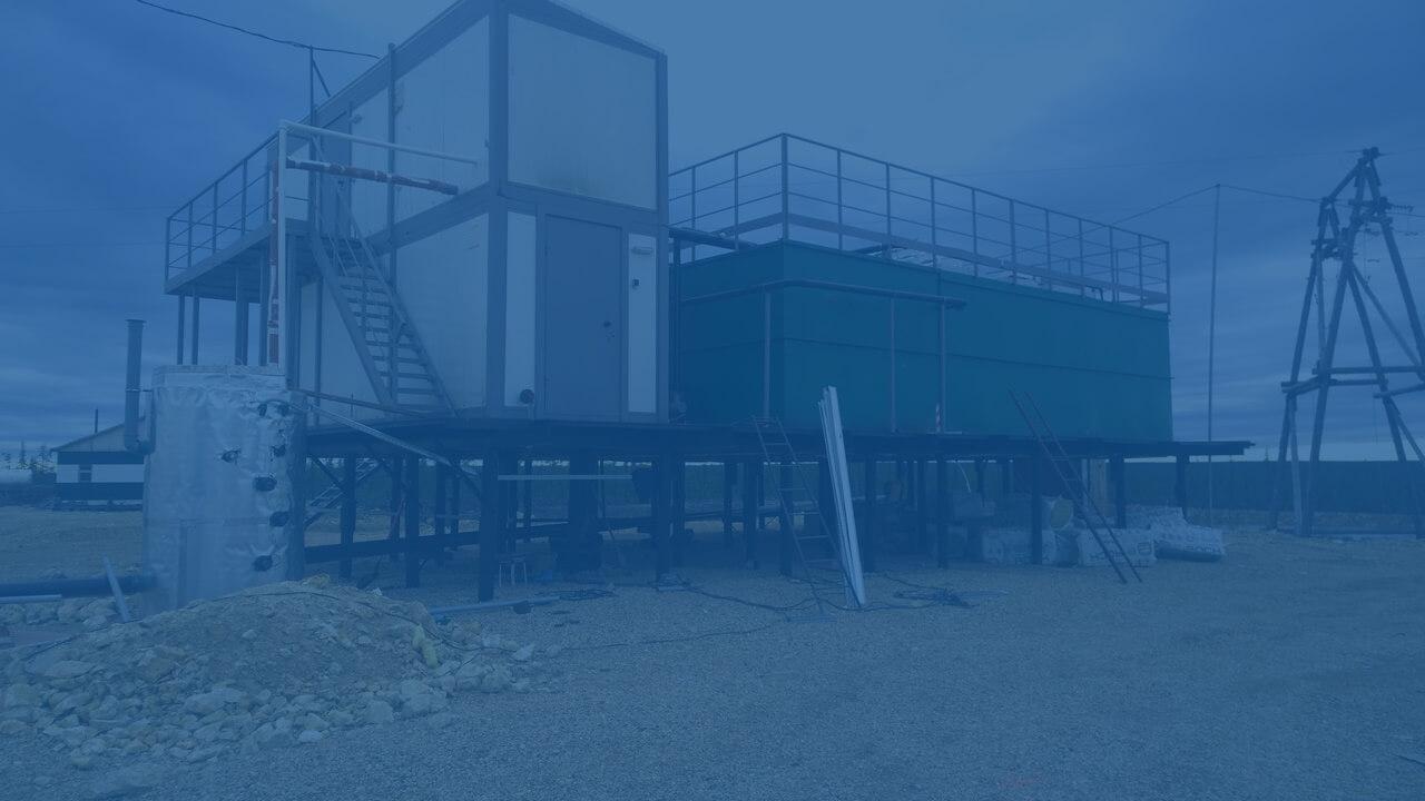 yakut3 Очистные системы Поселок Эбелях, Якутия