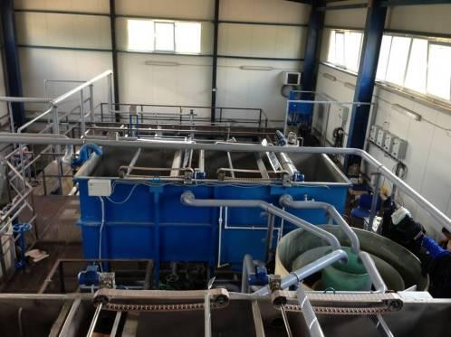 flotacionnye sistemy 4 Очистные сооружения для завода по производству химикатов