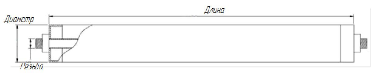chertezh trubchatogo ajeratora Аэраторы трубчатые