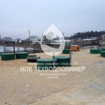stancija biologicheskoj ochistki 350x350 Очистка хоз бытовых стоков