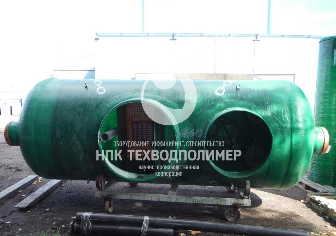 stancija ochistki livnevyh stokov 01 Очистка ливневых стоков