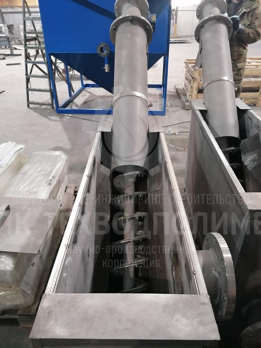 img 20210427 133732 Механическая решетка BAYKAL M ШН шнековая наклонная с приёмным баком