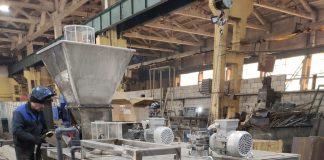 Автоматический комплекс приготовления реагента NOVA-RePr-Station-500 Материал изготовления: коррозионностойкая сталь AISI 304. Общая производительность: 500 л/ч Объем бункера: 40 л Кол-в мешалок: 2 шт. (степень защиты IP55) Общая мощность: 1,35 кВт 380 В / 50 Гц / 3ф Материал патрубков: ПВХ Габаритные размеры: 1410*1500*1880 мм Дополнительные комплектующие: - соленоидный клапан - датчик уровня - Y образный фильтр - шкаф управления - шнековый дозатор Поставка через дилера в Индию. Очистные сооружения атомной электростанции.